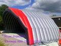 2016 a melhor qualidade ao ar livre grande exibição estande inflável inflável marquise telhado barraca inflável do evento