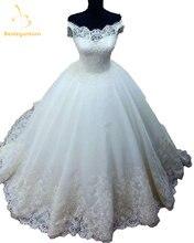 Женское кружевное бальное платье Белое Бальное из органзы с