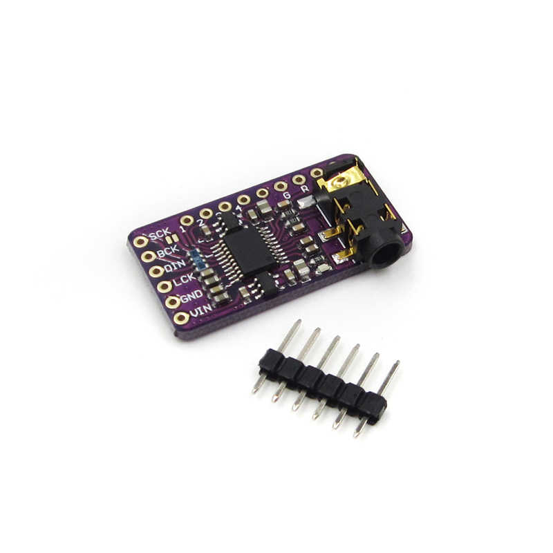 Interface I2S PCM5102 DAC Decoder GY-PCM5102 I2S Player Module For  Raspberry Pi pHAT Format Board Digital Audio Board