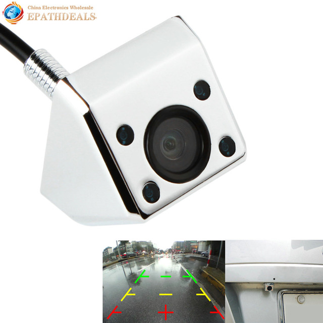 Waterproof Night Vision Car Rear View Camera 120 Degrees Wide Angle Lens Auto Rearview Revese Backup Camera Parking Assistance