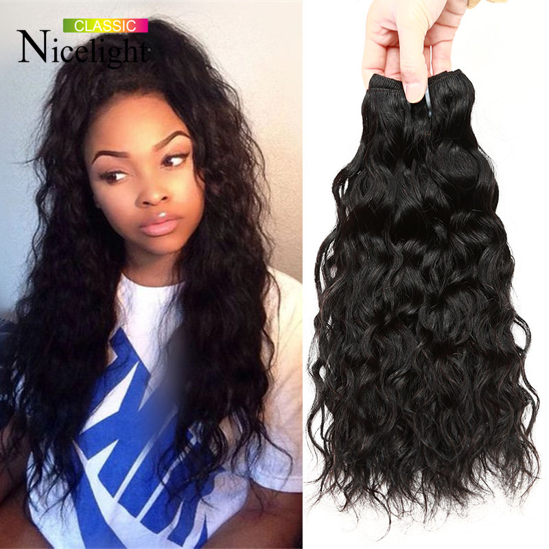 cat hair style 2016 new hairstyle indian hair water wave remy 1129