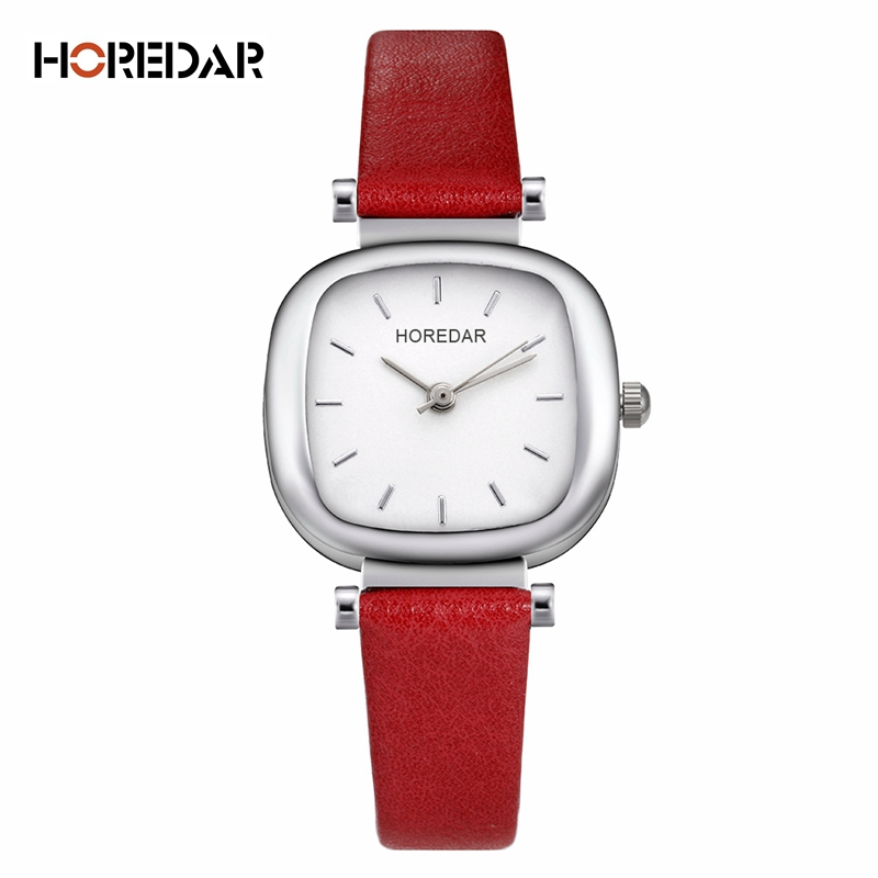 HOREDAR Vintage Square Women Watches 2017 Luxury Brand Ladies Dress Quartz Wrist Watch Elegant Wristwatch Montre Femme saat 2