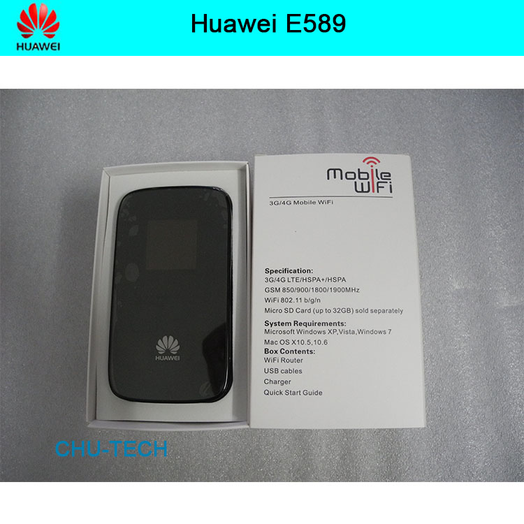 Débloqué Huawei E589 LTE 4g wifi routeur 3g 4g wifi dongle 4g routeur sans fil E589u-12 4g mifi pocket pk e5573 e5756 e5377 e5220