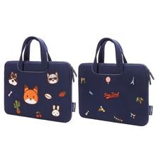 Cute Cartoon 15.6 15 14 13.3 inch Laptop Bag Notebook Sleeve Case for 11 , 12, 13 14, bag