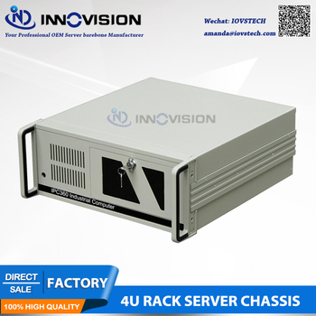 Hot-sale Stable 4U rack mount chassis  IPC360 For industrial control systems 2u 6 disk hot plug server chassis rm21706 2u industrial chassis