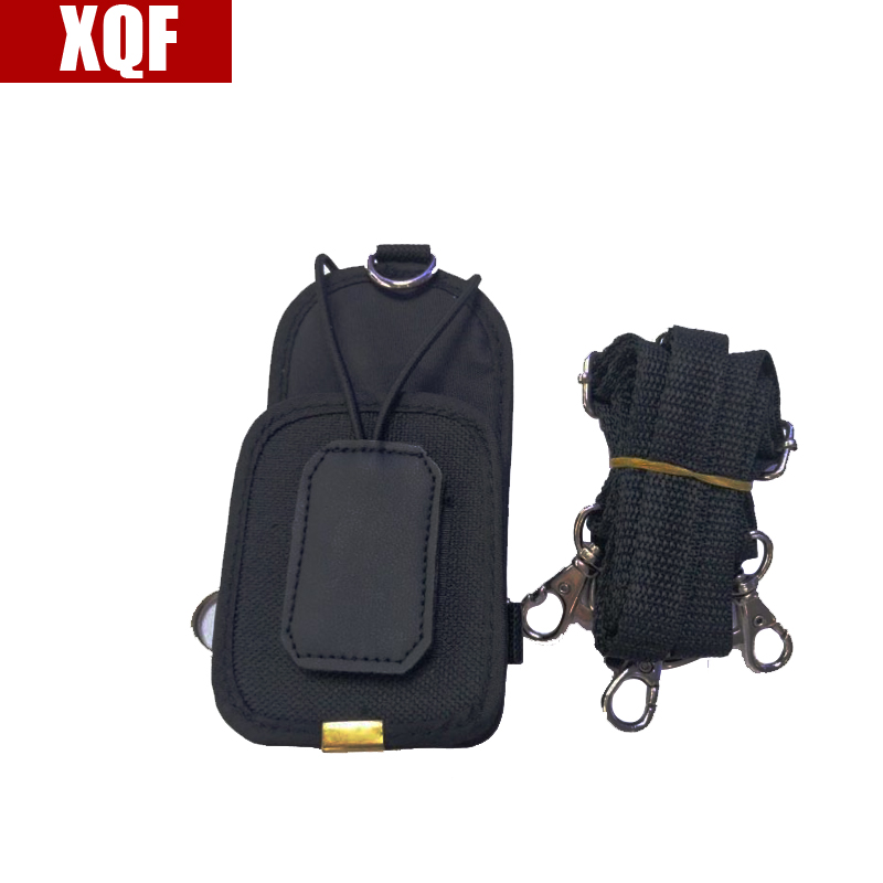 XQF Two Way Radio Nylon Bag Radio Case Holder For BaoFeng UV-5R GT-3 5RE Plus UV-B5 UV-B6 BF-888S BF-F8+ UV-5RA