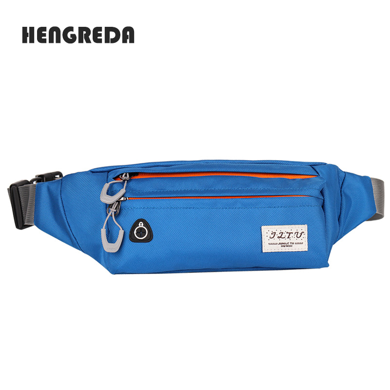 Mens Womens Waist Bag Fanny Pack Belt Travel Pouch Adjustable Water Resistant