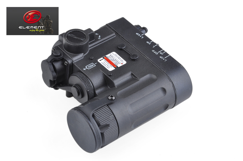 Element DBAL eMkII D2 Laser Flashlight Combo IR Tactical Weapon Light+Free shipping(E040042) element dbal d2 battery case red dot laser pointer led flashlight ir illuminayor remote control tactical military weapon lights
