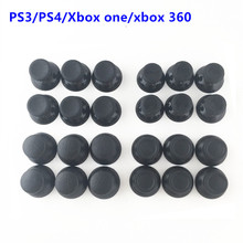 100 stücke 3D Analog Joystick Stick Modul Pilz Kappe Für Sony PS4 Playstation 4 PS3 Xbox ein Xbox 360 Controller thumbstick Abdeckung