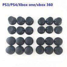 100 قطعة عصا تحكم تناظرية ثلاثية الأبعاد عصا وحدة الفطر غطاء لسوني PS4 بلاي ستيشن 4 PS3 Xbox one Xbox 360 تحكم Thumbstick غطاء