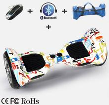 ul Free shipping by Fedex or UPS 10 inch Two Wheels Bluetooth Electric Scooter with Remote