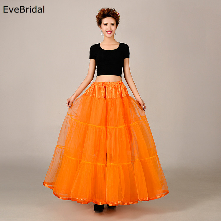Купить с кэшбэком Short Tutu Bridal Petticoat Crinoline Underskirt Wedding Dress Skirt Slips Waist adjustable