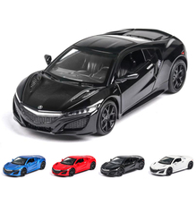 1:32 ACURA NSX car Toy Car  Metal Diecasts & Vehicles Model with light sound Toys For Children