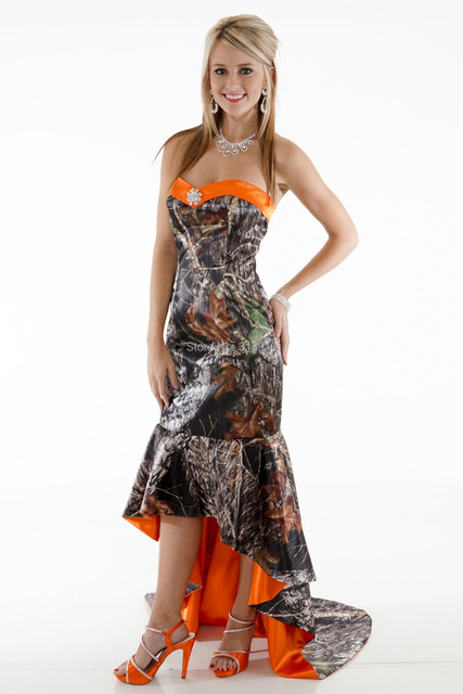 Camo Prom Dresses with Boots _Prom Dresses_dressesss
