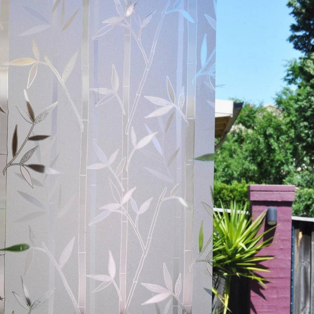 Custom Size Stained Static Cling Window Film Privacy Etched Home Decor Pvc Gl Stickers Decals Zoo