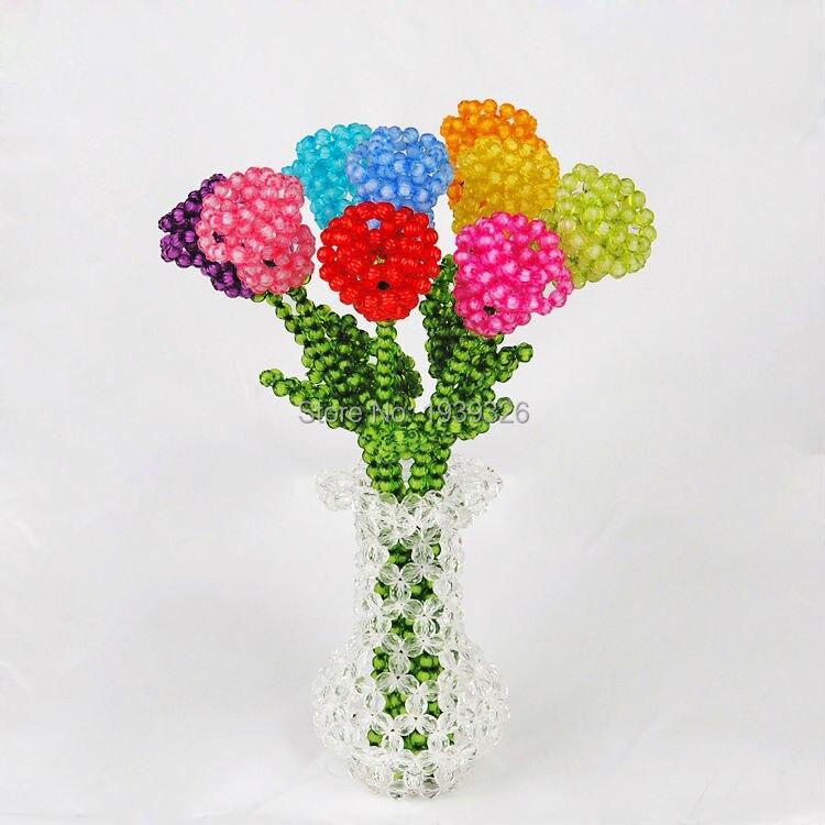 Online Get Cheap Knit Roses Aliexpress
