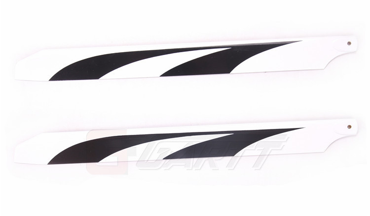 10Pairs LOT Gartt 450L 360mm Glass Fiber Main Blades For Align Trex 450LRC Helicopter