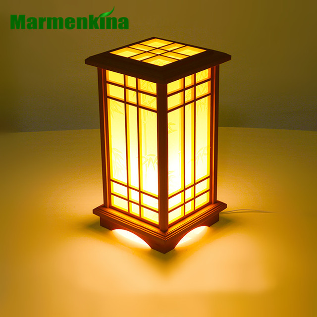 Marmenkina Japanese Style Table Lamp Indoor Lamp Living