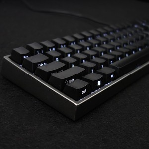 Image 2 - YMDK 104 87 61 ABS Side lit Side Backlit Black Keycap Set OEM Profile For MX Mechanical Keyboard