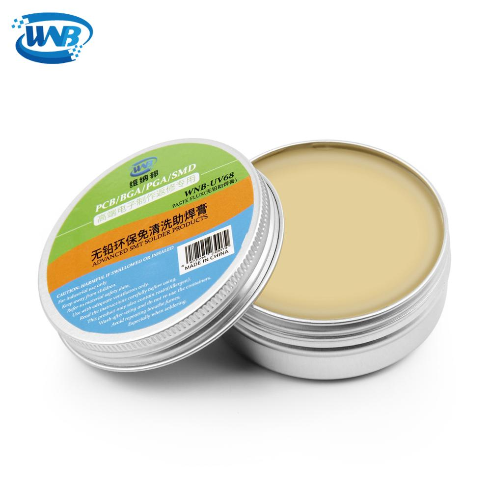 WNB Grease Repair Solder Paste Flux Rosin Environmental No-clean Electric Welding Tool For Metalworking PCB PGA BGA SMD IC Part