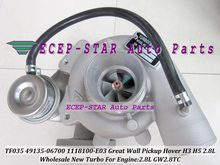 TF035 49135-06700 1118100-E03 1118100E03 49135 06700 4913506700 Turbo For Great Wall Pickup Hover H3 H5 Haval 2.8T GW2.8TC 2.8L