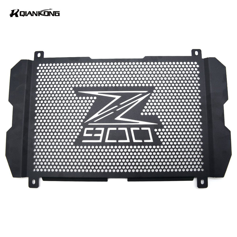 R QIANKONG 2017 NEW Arrivals Motorcycle Stainless Steel Radiator Grille Guard Protection For Kawasaki Z900 Z 900  Z650 Z 650 new motorcycle stainless steel radiator grille guard protection for yamaha tmax530 2012 2016