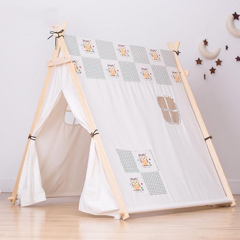 Kinderen Tent Oversized Indoor Game Room Baby Jongen en Meisje Speelgoed Huis Spel Tent Koningin Prinses Huis Vouwen Speeltent