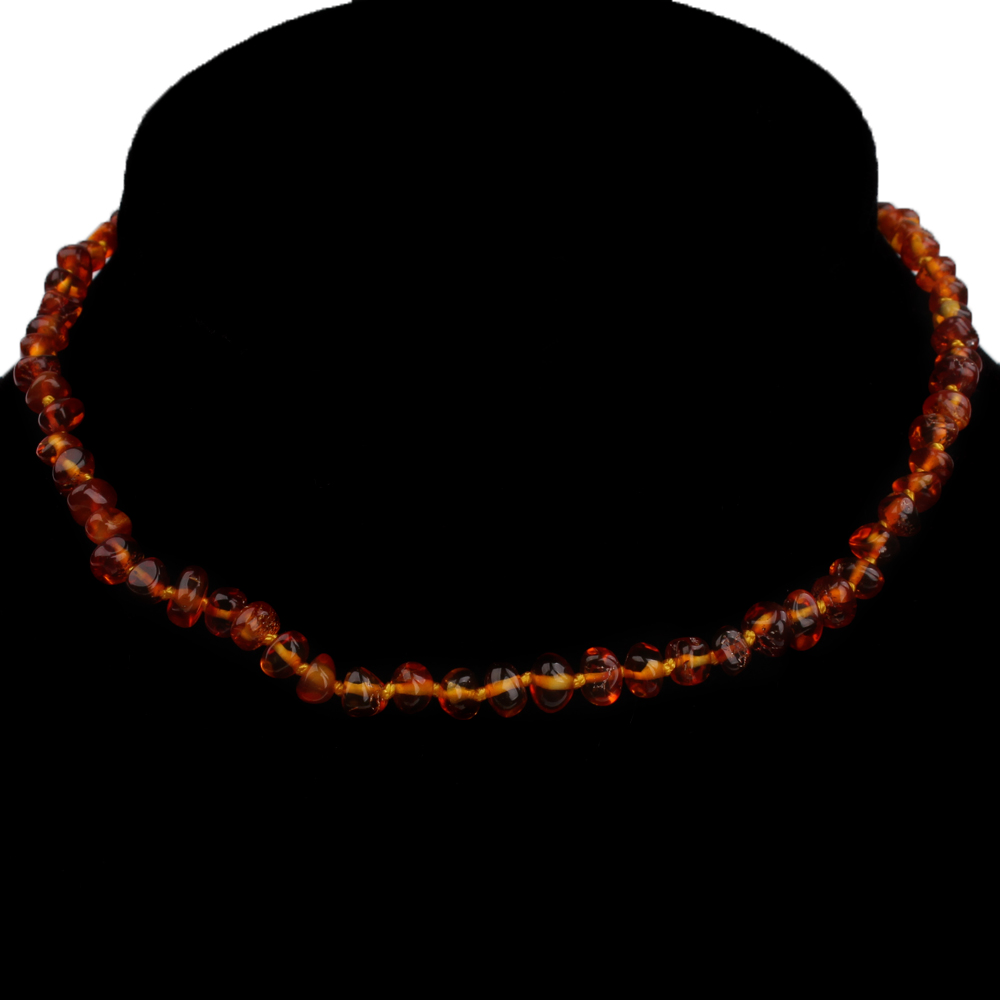 2017 Certified Authentic genuine baltic ambar stone necklace cognac&honey for adult,48cm adult necklace jewelry