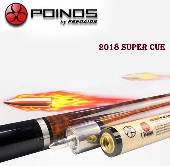 POINOS New AV Pool Cue 11.5mm 13mm Tip 1/2 Excellent Pool Stick Billiard Cue For Champions Professional Athlete 1/2 Piece Cue 2017 poinos break pool cue punch