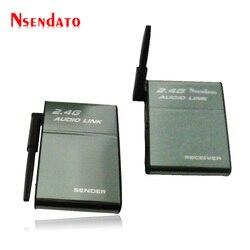 BX501E Portable Universal 200M 2.4GHz ISM Wireless Speaker Adapter Hi-Fi Digital Stereo Transmitter Receiver Audio Music Box