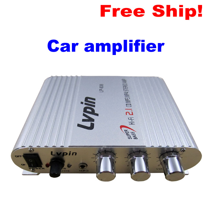 200W 12V subwoofer Bass amplificador 2.1 Channel audio Hi-Fi Amplifier Radio MP3 Stereo for Car Motorcycle Boat Home LP-838 8 inch 10 inch 12 fever car subwoofer amplifier board home audio refitting 150 w power bass