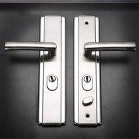 TTLIFE, 3 размера, 5 см/7 см/9 см, стальная панель, нержавеющая сталь, ручка безопасности, дверная ручка, аксессуары для дома, дверная ручка, замок