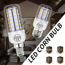 E27 LED Lamp 220V E14 Bulb 24 36 48 56 69 72 Corn GU10 Chandelier Candle Light For Home Lighting 5730SMD