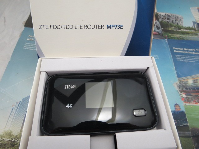 ZTE MF93E 4G Wi-fi Móvel Roteador MF93