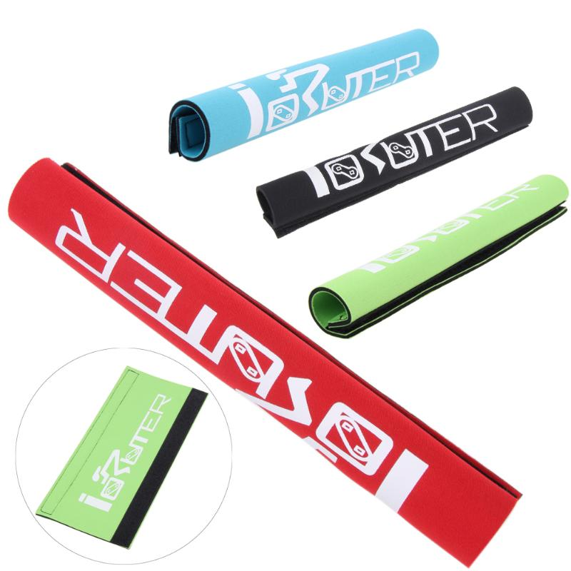 1 Pcs Bicycle Chain Stick Frame MTB Road Mountain Bike Chain Protect Cloth Cycling Chain Protector Sticker 4 Colors
