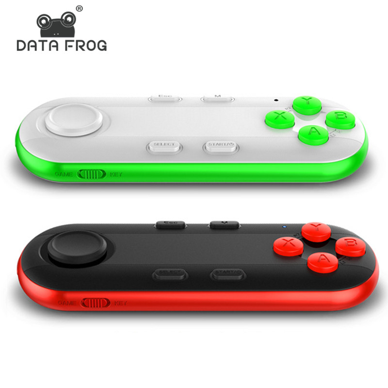 Simsiz Bluetooth Gamepad VR Uzaqdan Mini Bluetooth Oyun Nəzarətçisi IPhone IOS Xiaomi PC VR Box üçün Android Gamepad