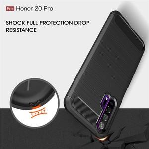 Image 2 - Voor Huawei Honor 20 Pro Case Armor Beschermende Zachte TPU Siliconen Telefoon Case Voor Huawei Honor 20 Pro Back Cover voor Honor 20 Pro