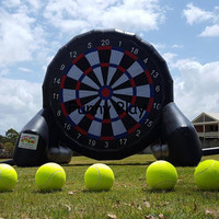 Outdoor Giant inflatable dart board Game Inflatable Foot Darts Inflatable Soccer Dart Board Inflable Game kick goal