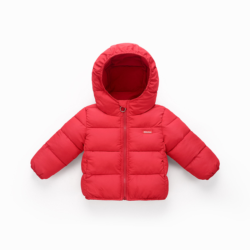 5e04296c9 Baby Boys Girls Winter Coats Outerwear Fashion Hooded Parkas Baby ...