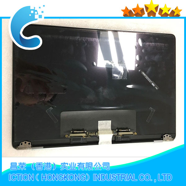 Genuine New A1708 Grey Silver Color for Macbook Pro Retina 13 A1708 LCD Screen Complete Assembly Late 2016 Mid 2017 original new a1708 lcd assembly for macbook pro retina 13 a1708 full lcd panel display assembly 2016 2017 year emc2978 emc3164