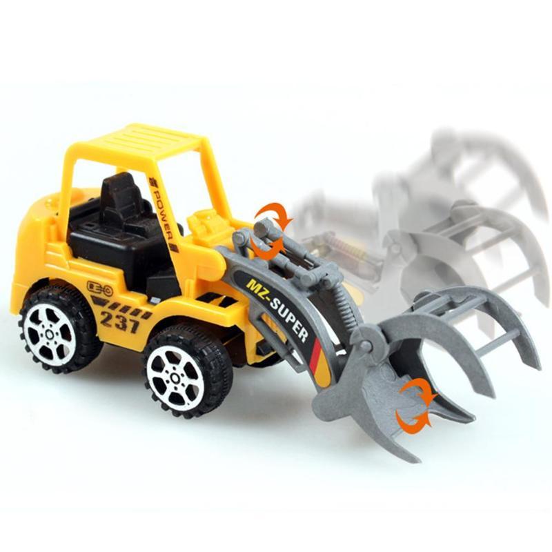6pcs Baby Mini Car Toys Kids Mini Engineering Vehicle ABS Lot Vehicle Sets Educational Toys Child Festival Gift