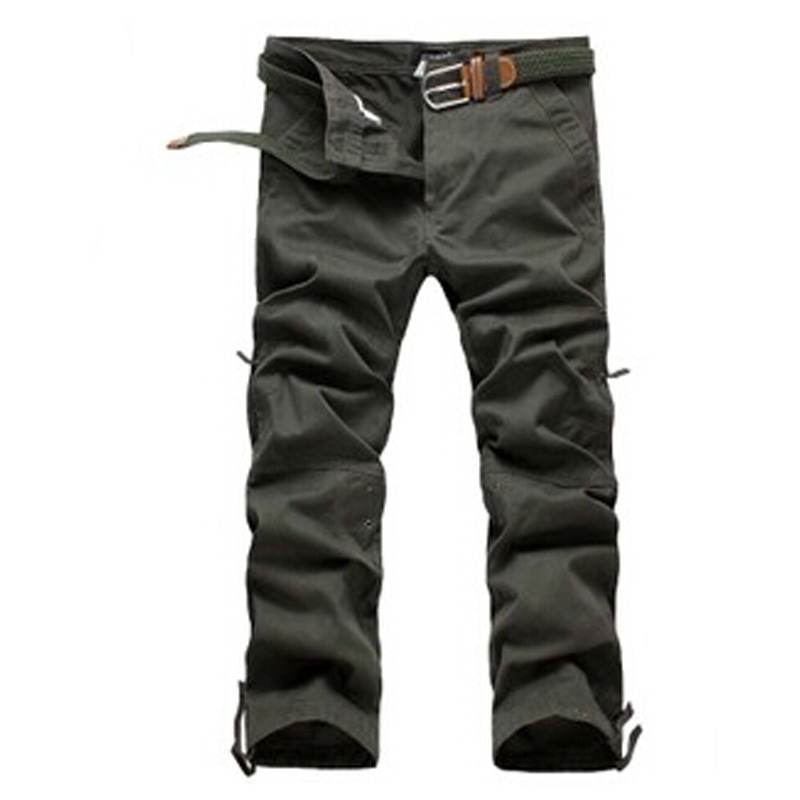 wholesale Mens Cargo Pants Warm Baggy Pants Cotton Trousers male loose pantalones casual free shipping DL1579