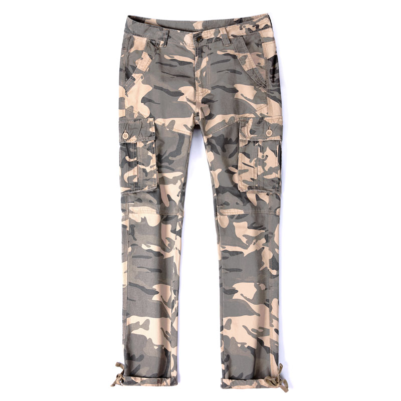 High Qulity New Cotton Waterproof Camouflage Tactical Pants War Game Cargo Pants Mens Pants Trousers Army Military Active Pants