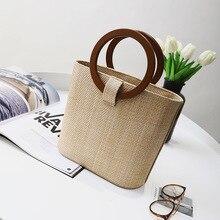 2020 New Famous Designer Beach Bag Straw Totes Bag Bucket Au