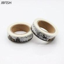 JBFISH Japanese Paper Washi Tapes Masking Tapes Adhesive Tapes 8024
