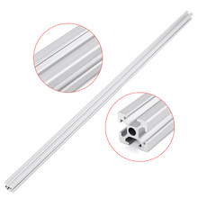 1pc 700mm Length 2020 T-Slot Aluminum Profiles Extrusion Frame For CNC 3D Printers Plasma Lasers Stands Furniture(China)