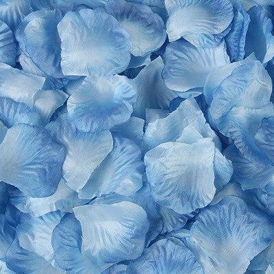 2000pcs/lot Wedding Party Accessories Artificial Flower Rose Petal Fake Petals Marriage Decoration For Valentine supplies 36