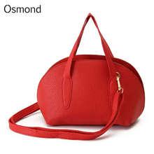 Osmond Women Messenger Bags Shell Woman Leather Bag Handbags Crossbody Shoulder Bags Bolsa Tote Sweet Fashion Style Pu 2017 New