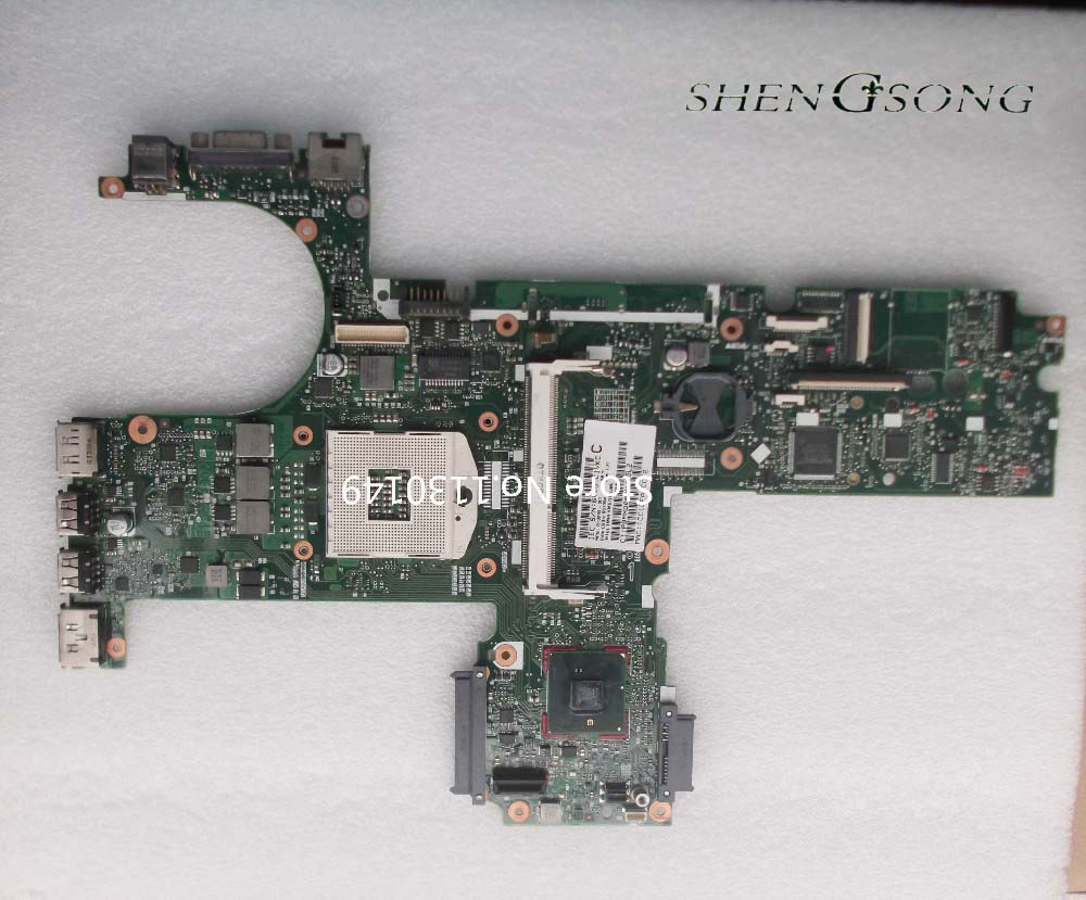 613293-001 free shipping laptop motherboard for HP Probook 6450B 6550B motherboard Integrated fully test k1 rizoma k1 bws