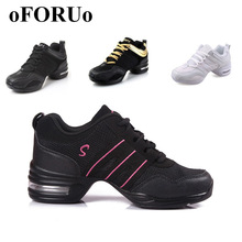 2017 Sports Feature Soft Outsole Breath Dance Shoes Sneakers For Woman Practice Shoes Modern Dance Jazz Shoes Discount